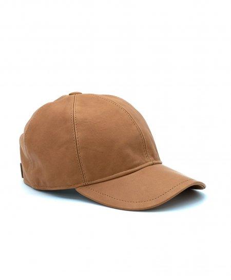 Honey unisex leather baseball Cap Hat adjustable velcro strap